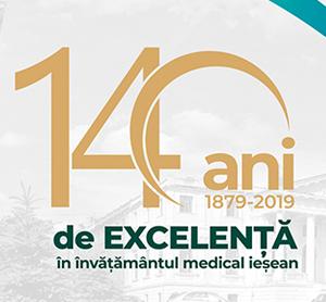 """UMF """"Grigore T. Popa"""" sărbătorește 140 de ani de excelență în educația medicală ieșeană"""